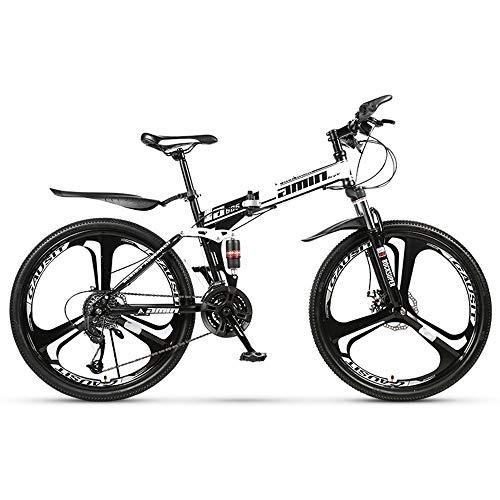 AminBike Bicicleta de montaña Plegable 21 velocidades
