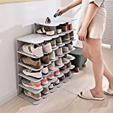 dxjsf Almacenamiento de Zapatos Multi-Capa Montaje Libre Zapato Organizador Zapato Rack Multifuncional Simple Zapato Estante...