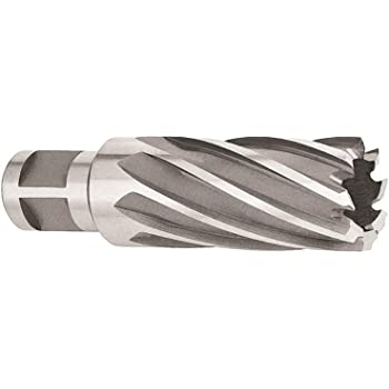 Pack of 1 Spiral Flute Michigan Drill 212 Series High-Speed Steel Extra-Long Length Drill Bit 1//2 Size Round Shank Ground Finish 118 Degrees Conventional Point 12 Length
