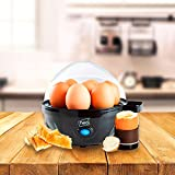 Neo® 3 in 1 Durable Electric Egg Cooker, Boiler, Poacher & Omelette Maker (Clear)