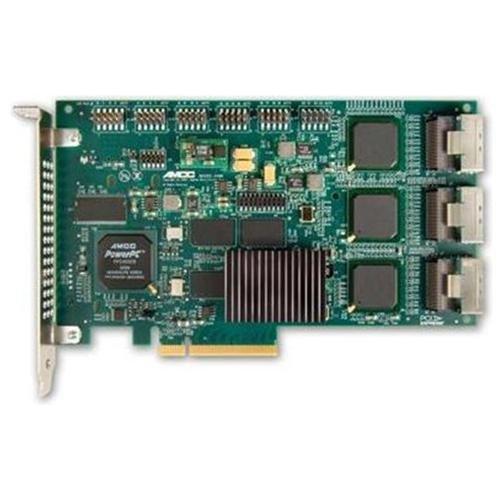 LSI LOGIC 3ware 9650SE-24M8 SATA-Controller (SGL 24-Port, SATA II, 512MB DDR2-Speicher, 8X PCI-e 1.1, RAID 0/1/5/6/10/50/SingleDisk/JBOD)