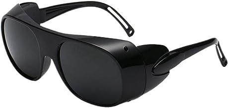 DYNWAVE Óculos de Solda Óculos de Solda Óculos de Proteção de Segurança Óculos de Soldador - cinzento, Tamanho real