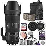 Sigma 70-200mm f/2.8 DG OS HSM Sports Lens for Canon EF + Sigma USB Dock with Altura Photo Advanced Accessory and Travel Bundle