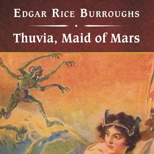Thuvia, Maid of Mars cover art