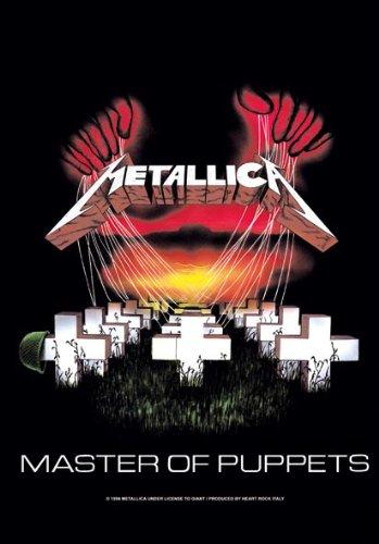 Empire Merchandising Metallica - Póster de la bandera de Máster de P