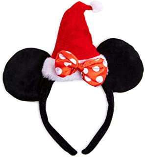 Disney Christmas Minnie Mouse Santa Headband - Girls Size
