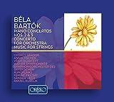 Bartók : Concertos pour piano et pour orchestre - Musique pour cordes. Sandor, Fischer, Fricsay, Végh, Kubelik.