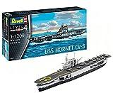 Revell- Maquette du Bateau USS Hornet, 05823