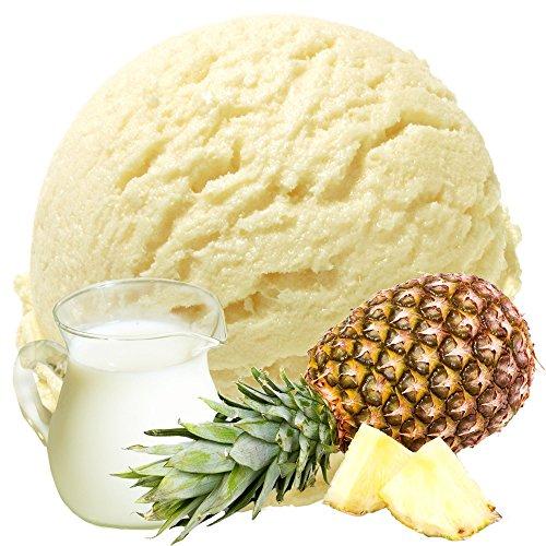 Buttermilch Ananas Geschmack 1 Kg Gino Gelati Eispulver Softeispulver für Ihre Eismaschine