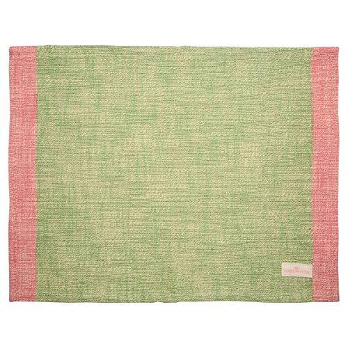 Geengate COTPLAMIN3906 Minna Tischset Pale Green 35 x 45 cm (1 Stück)