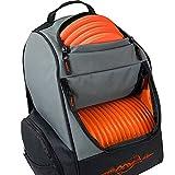 MVP Disc Sports Backpack Shuttle Bag (Gray/Orange)