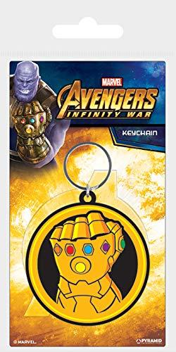 Marvel Comics Avengers war-infinity Gauntlet portachiavi in gomma, multicolore, 4.5x 6cm