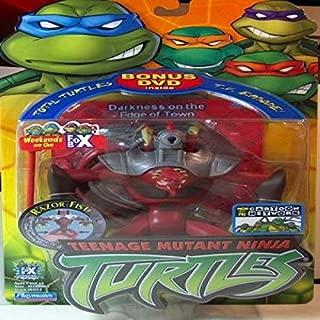 Teenage Mutant Ninja Turtles Razor Fist Action Figure w/ Bonus DVD (2004 Release)