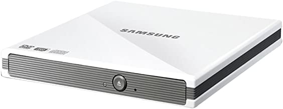 Samsung USB 2.0 8xDVD Writer External Optical Drive for Mac and PC SE-S084C/RSBN (Gloss Black)