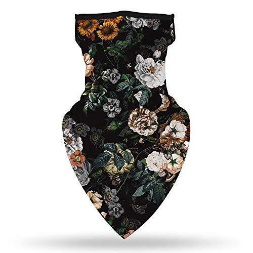 Leopard Hoofddoek/Opknoping Oor Masker/Triangle Sjaal Insect-Proof Ademende Magic Hoofddoek Geschikt Voor Outdoor Klimmen