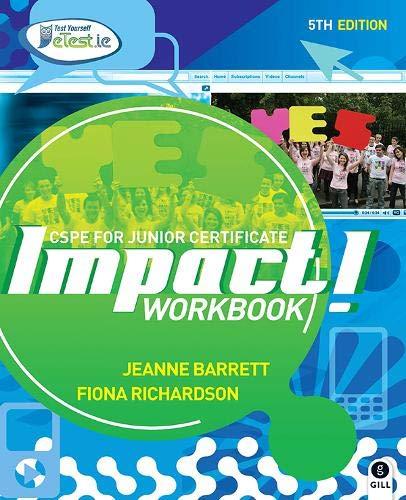 Impact! Workbook: CSPE for Junior Certificate