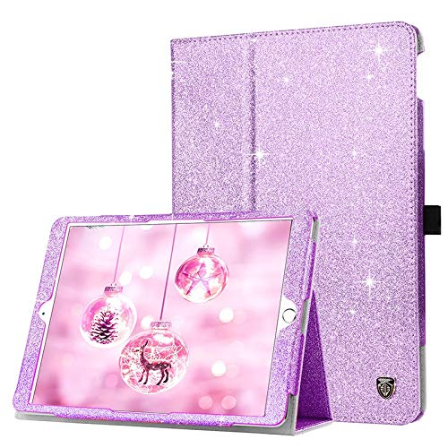 CRFYJ For Ipad7th 10.2 Air 3rd Pro10.5 Case Cover with Pencil Holder Auto Sleep Smart Cover Funda Capa for 9.7 Ipad 2017 2018 Air Air2 (Color : Purple, Size : 9.7 Ipad 2017 2018)