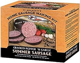 Hi Mountain Jerky Cracked Pepper 'n Garlic Summer Sausage Kit