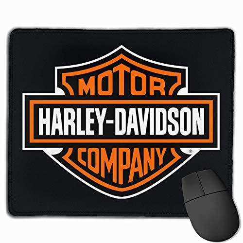 ASDAH Tappetino per Mouse con Disegni Tappetino per Mouse da Gioco Harley Davidson Mousepad Gomma Naturale