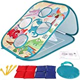 Yuham Gifts for 3 4 5 6 7 8 Year Old Boys Outdoor Toys for Kids Ages 4-8 Outside Kids Cornhole Game Set Bean Bag Toss Birthday Christmas Games for 2-4 3-5 4-5 4-7 Toddler