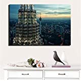 ABCDfang Kuala Lumpur Twin Towers Poster und Drucke