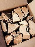 Eichenofen getrocknetes Hartholz - Perfektes Brennholz für Kaminöfen, Holzöfen, Kaminfeuer, Pizzaöfen, Feuerholz | Langsam brennendes EICHE Kaminholz 27kg