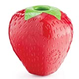 Planet Dog Orbee-Tuff - Kauspielzeug für Hunde - Leckerlispender - Erdbeere