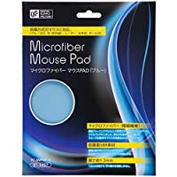 マイクロファイバー マウスパッド ブルー [PC-SMPMF-A]