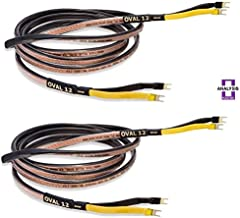 Analysis Plus Oval 12 Speaker Cable (Stereo Pair) 4 ft