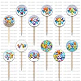 Word Party Cupcake Toppers Party Supplies