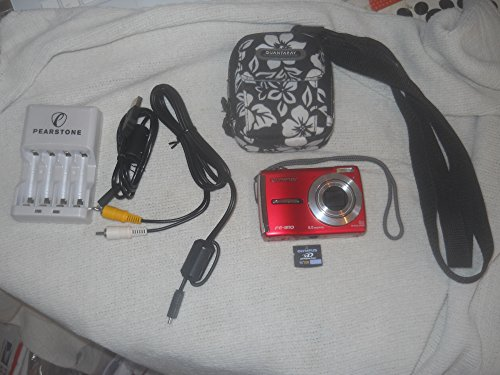 Great Features Of Olympus FE-310 Red 8.0 Mp Digital Camera