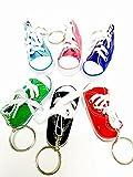 Canvas Mini Hi Top Sneaker Keychain - 2 Pack