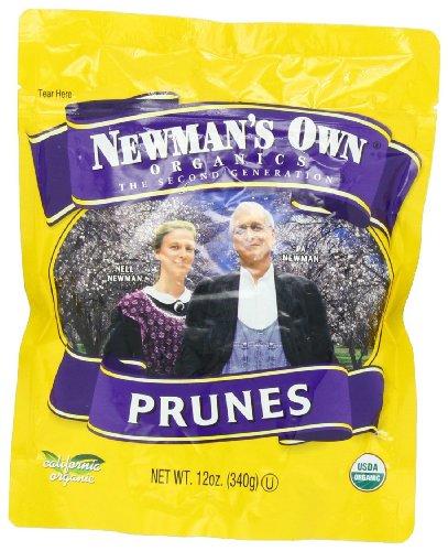 Newmans Own Organics California Pitted Prune, 12 Ounce - 12 per case.