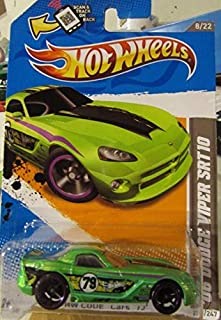 Hot Wheels Hw Code Cars '12 '06 Dodge Viper SRT10 2012 Scan and Track Card 233/247