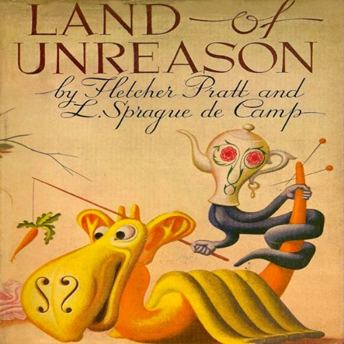 Land of Unreason audiobook cover art