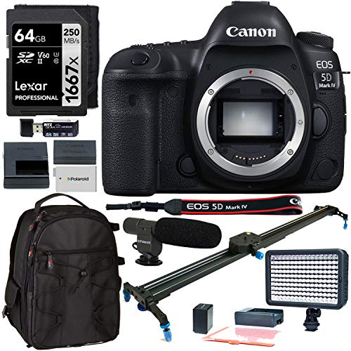 Canon EOS 5D Mark IV Digital SLR Camera...