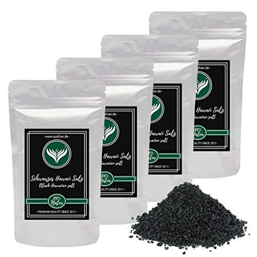 Azafran Hawaii Salz schwarz - Schwarzes Dekorsalz Black Lava 1kg