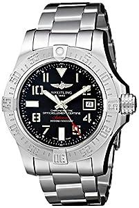 Breitling Men's BTA1733110-F563SS Avenger II Seawolf Analog Display Swiss Automatic Silver Watch