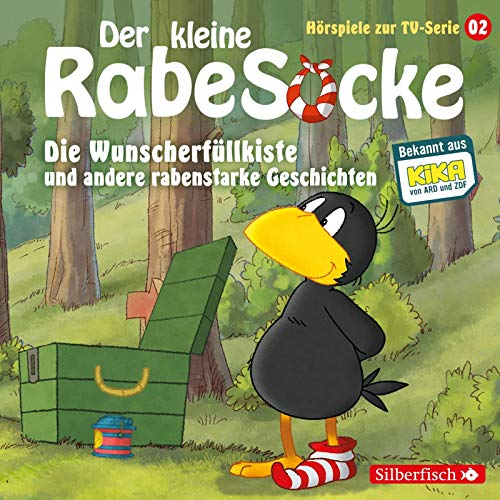Die Wunscherfüllkiste, Der Waldgeist, Haltet den Dieb! (Der kleine Rabe Socke - Hörspiele zur TV Serie 2): 1 CD
