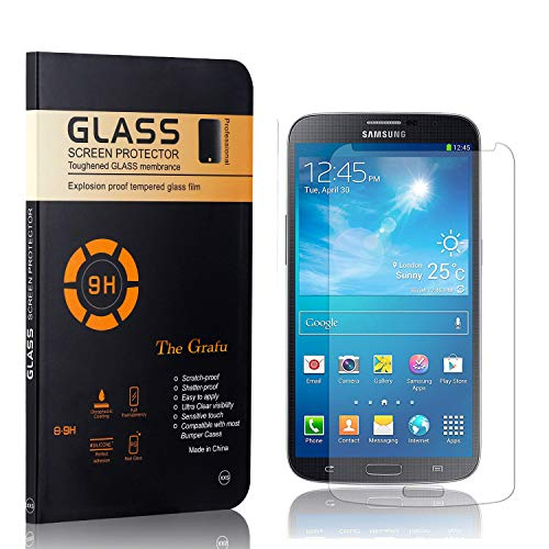 The Grafu Screen Protector for Galaxy S4, Ultra Thin Tempered Glass Screen Protector, 9H Hardness Screen Protector Compatible with Galaxy S4, 4 Pack