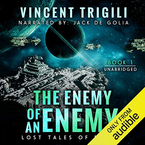 The Enemy of an Enemy audiobook cover art