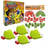 Tic Tac Tongue Game, Funny Family Board Game Catch Bugs Game Joint Take Card-Eat Pest Desktop Board Games for Parent-Child Interactive Kids Christmas Birthday Gifts Toys