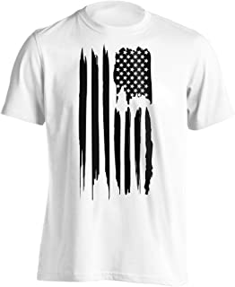 Dion Wear Black American Flag T-Shirt