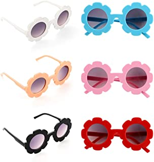 BKpearl 6 Pcs Flower Kids Sunglasses, Cute Girl...