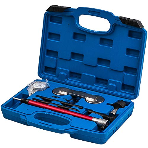 maXpeedingrods 8tlg Motor Steuerketten Einstellwerkzeug Messuhr für 1.2 1.4 1.6 TSI FSI
