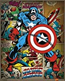 Pyramid International Captain America Retro-Mini-Poster,