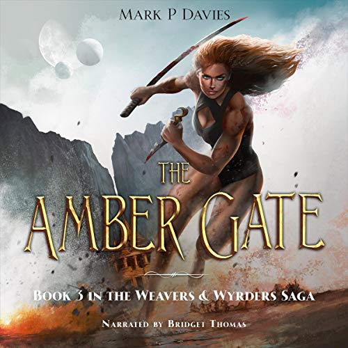 The Amber Gate Audiobook By Mark P. Davies cover art