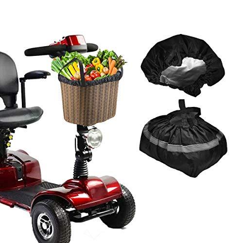 VVHOOY Mobility Scooter Basket Cover & Liner, Multipurpose Waterproof Rain Cover Bag Liner for Scooter Front Basket