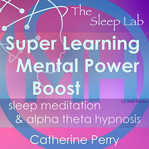 Super Learning Mental Power Boost audiobook cover art