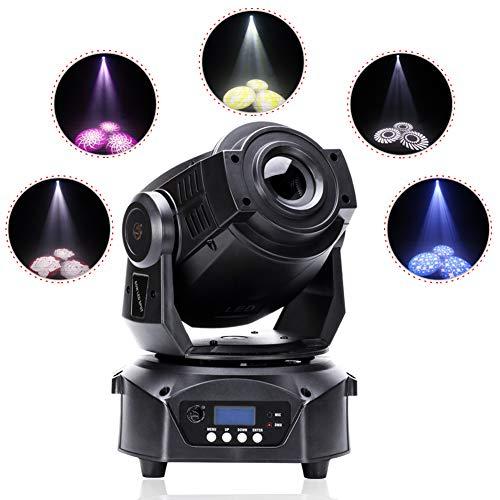 U king Mini 9/Head Bird Disco de luz LED RGB de 60/W de giratorio Luz de LED Roja con efecto y DMX de sonido y sonido activo para disco Club Bar de fiesta de Bands